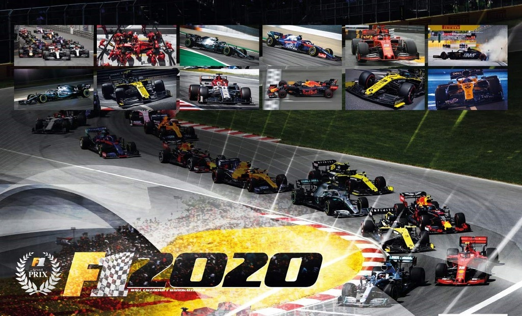 Kalendarz Formula 1 Calendar 2020 F1 Kubica Robert 8452021842 Oficjalne Archiwum Allegro