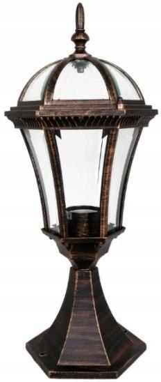 Solidna Lampa latarnia ogrodowa quen 47cm aluminio