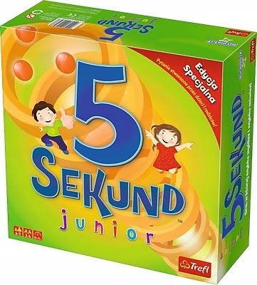 GRA 5SEKUND JUNIOR 2.0 gra towarzyska TREFL 5 sek