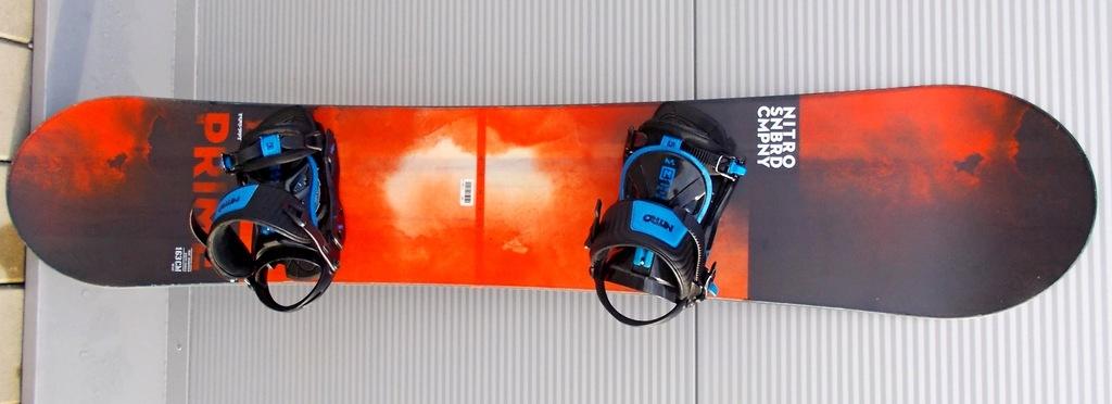 Deska snowboardowa NITRO PRIME MCMXC WIDE 163 cm