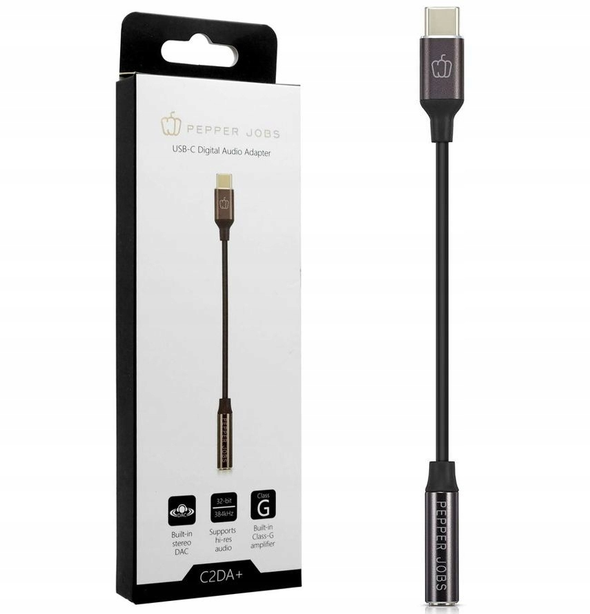 Pepper Jobs USB-C Audio Adapter | Google Pixel 2/3