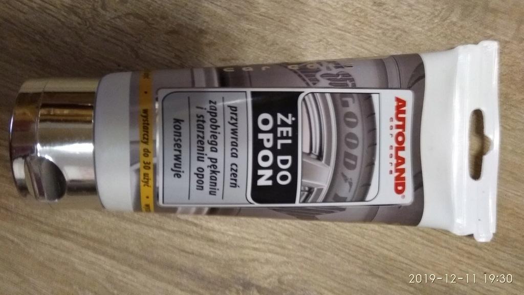 AUTOLAND ŻEL DO OPON 150 ml WYPRZEDAŻ