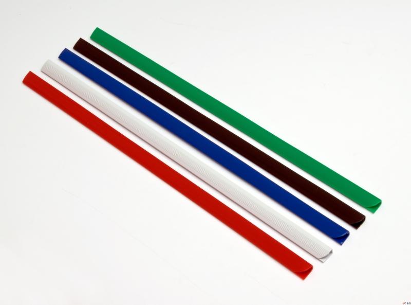Grzbiet wsuwany DATURA 15mm (50szt) zielony