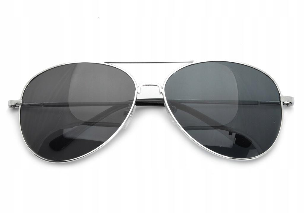 PILOTKI AVIATOR Unisex Okulary przeciwsłoneczne
