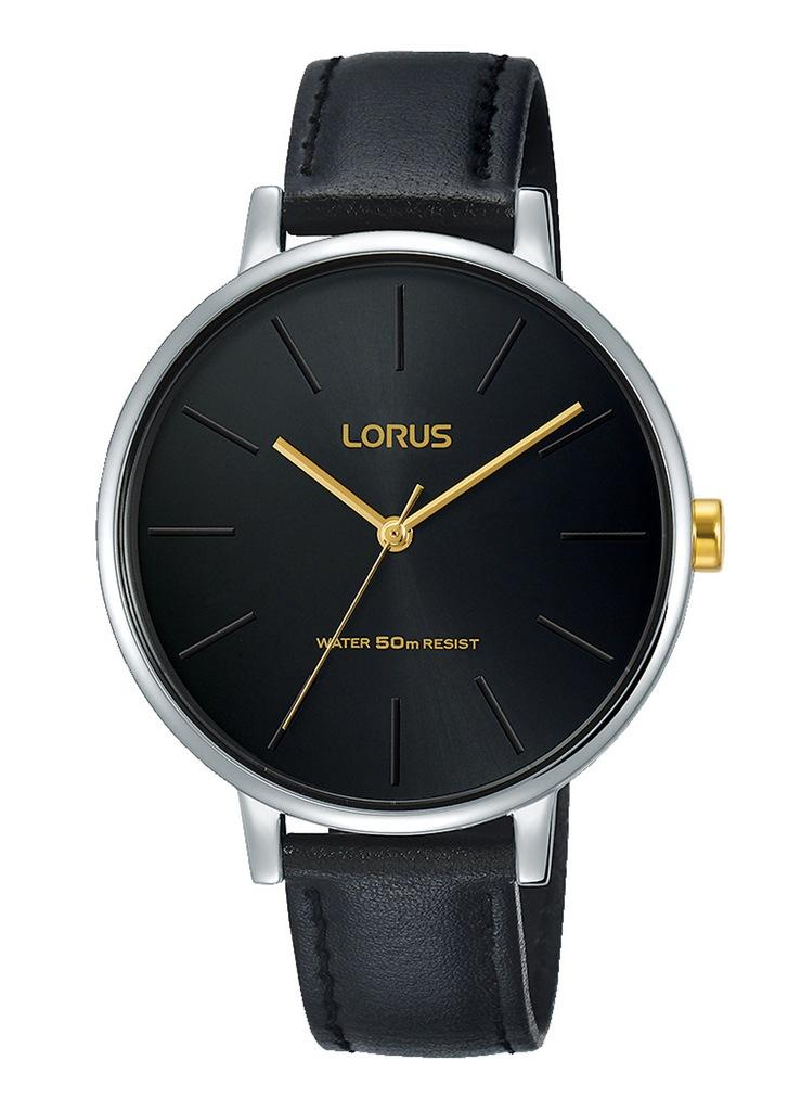 Zegarek damski LORUS srebrny na pasku wodoodporny