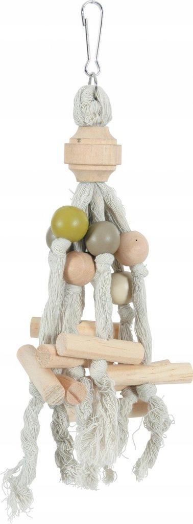 ZOLUX Drewniana zabawka dla papug KITO