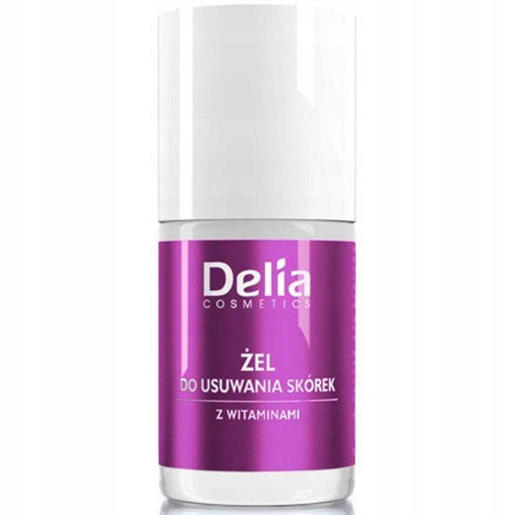 Żel do usuwania skórek z witaminami 11 ml - Delia