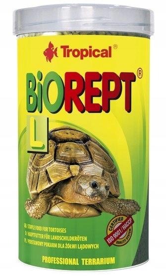 Tropical Bio-Rept L puszka 100ml - dla żółwi lądow