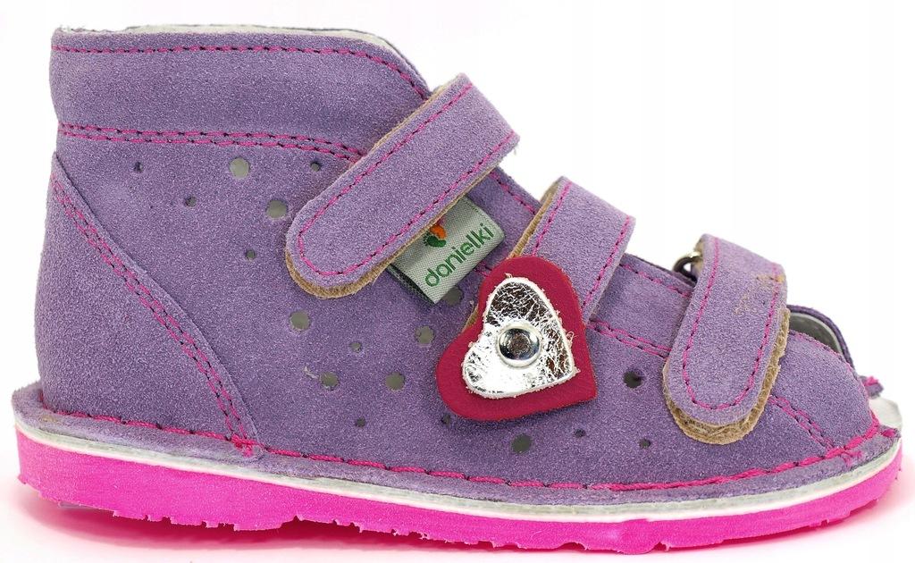 20 Danielki buty profilaktyczne SANDAŁY 13,5cm