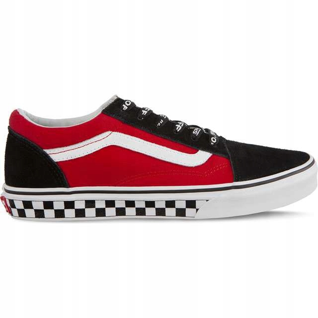 Old Skool VI7 Logo Pop Black True White r.39