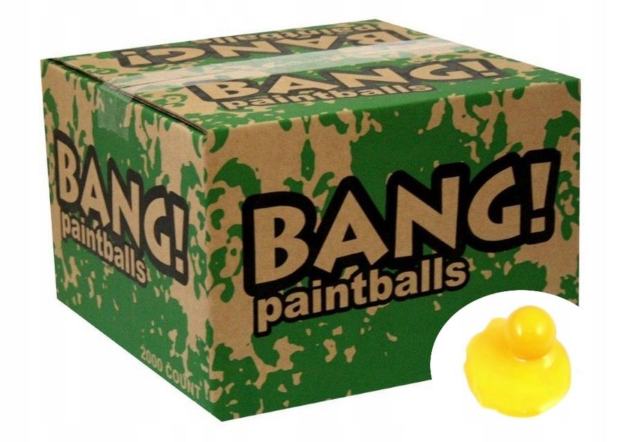 KULKI paintball BANG! FIELD 500szt EU