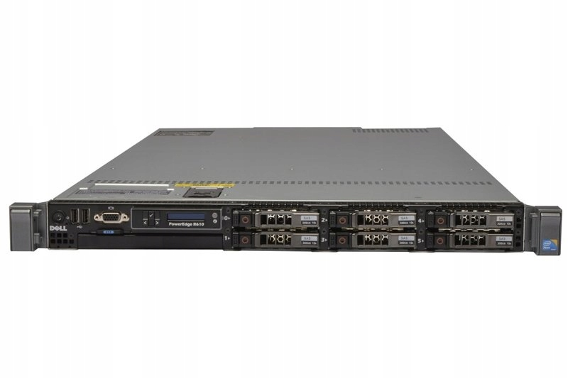 Serwer Dell PowerEdge R610 E5530 48GB RAM 2x300GB