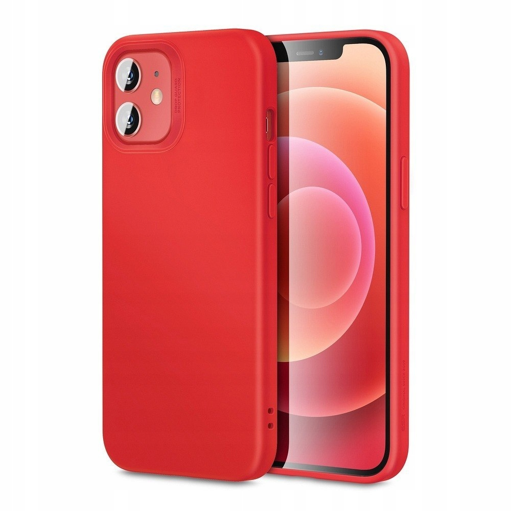 Futerał ESR Cloud do iPhone 12 MINI czerwony