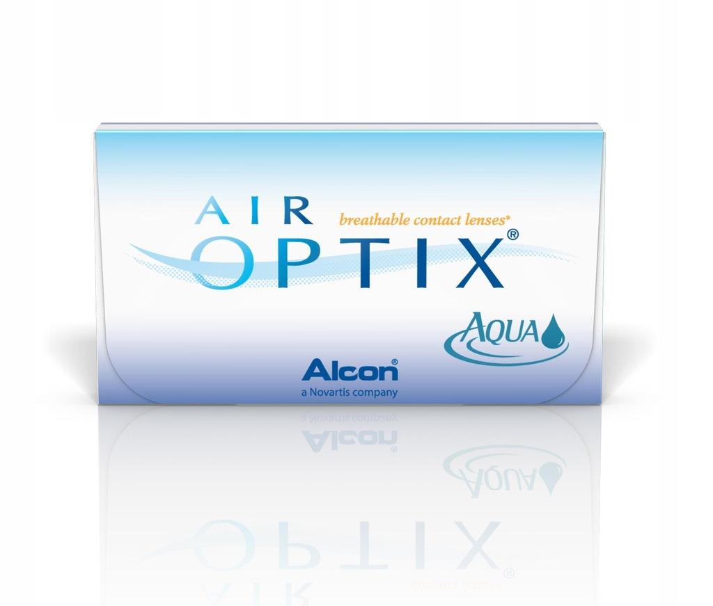 Soczewki AIR OPTIX AQUA 1 szt. +6,00 31/03/2021
