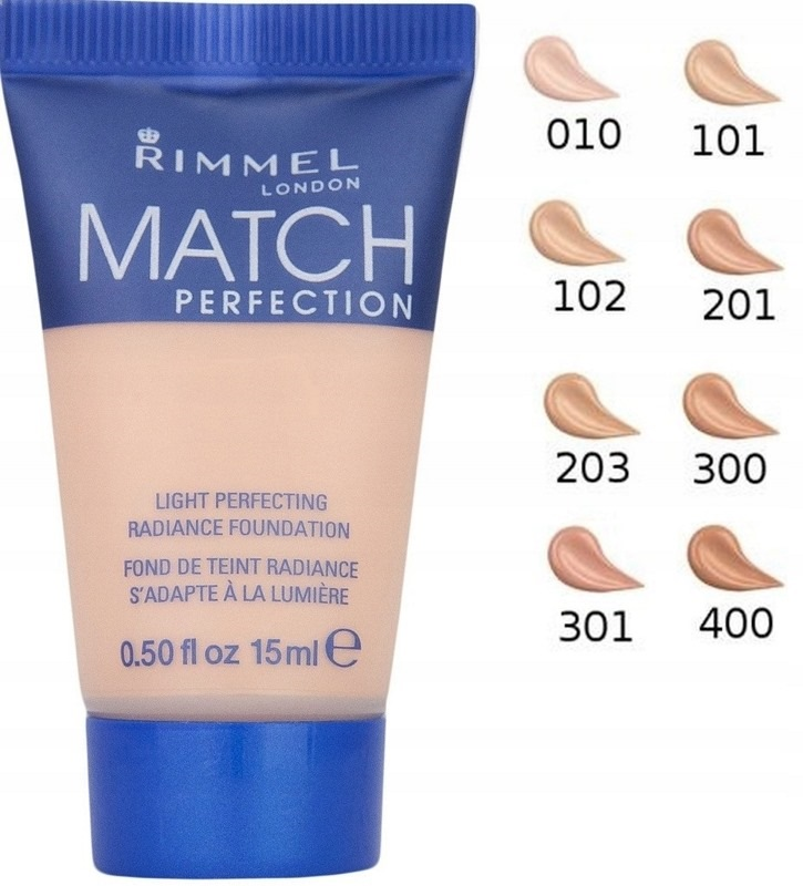 Rimmel Match Perfection podkład 15ml MINIATURKA