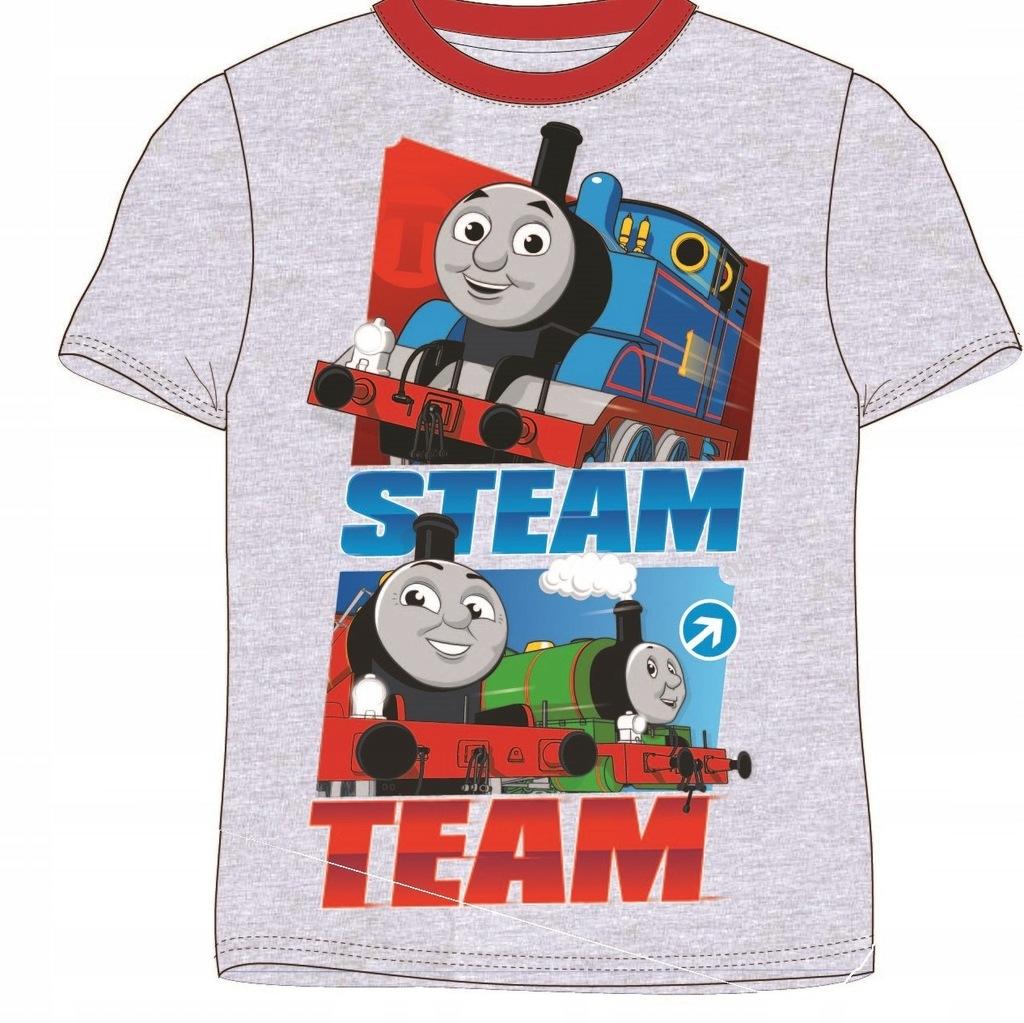 Koszulka Tomek i Przyjaciele siwa bluzka 122