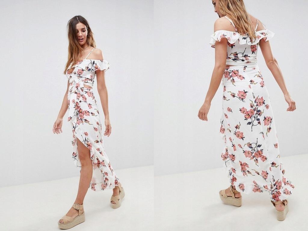Glamorous Spódnica z kwiecistym nadrukiem 34