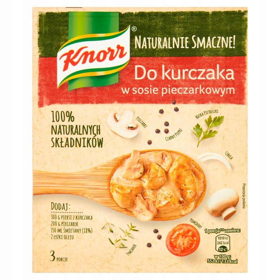 Knorr Naturalnie Smaczne! Fix do kurczaka w sosie