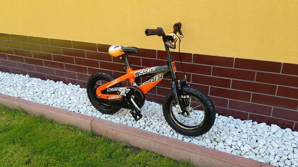 aluminiowy rowerek SCOTT Voltage JR koła 12