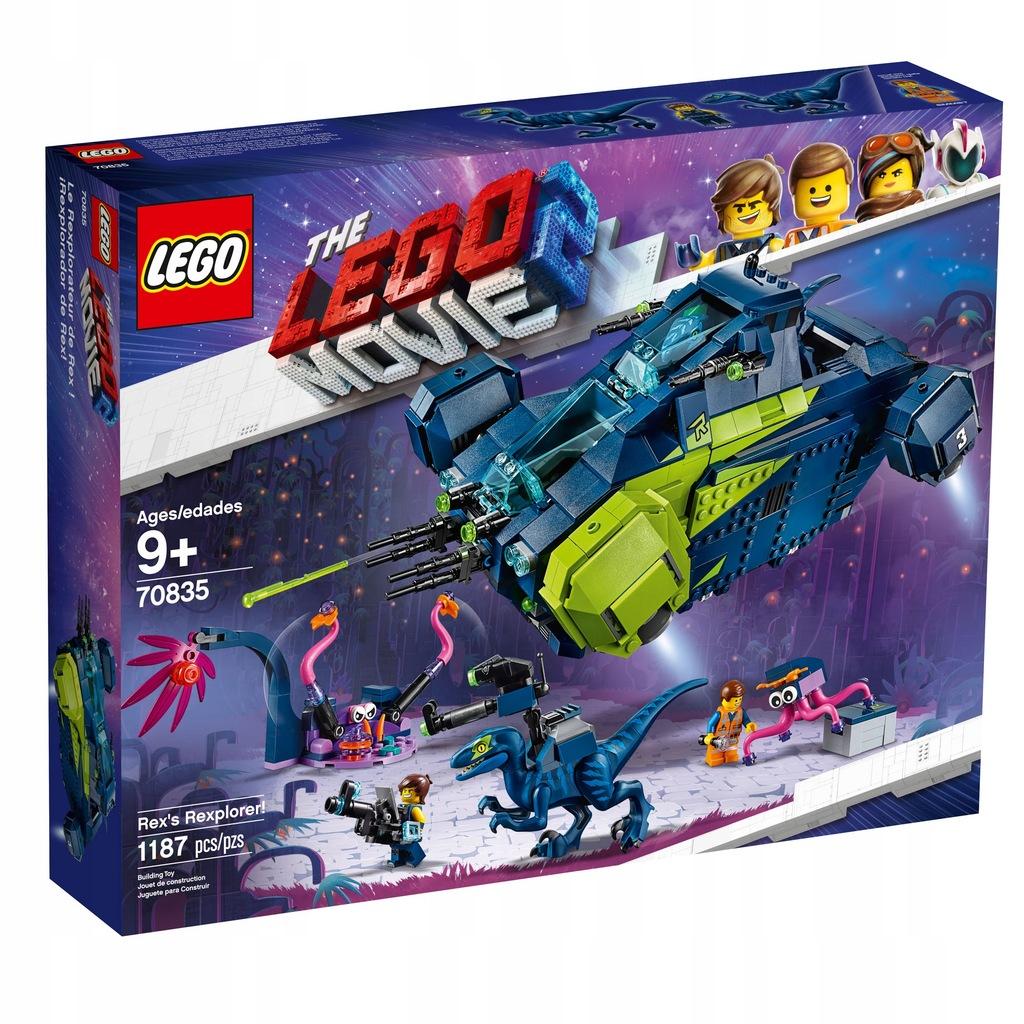 Klocki Lego The Movie 2 Rexplorer Rexa 70835 7745699341 Oficjalne Archiwum Allegro
