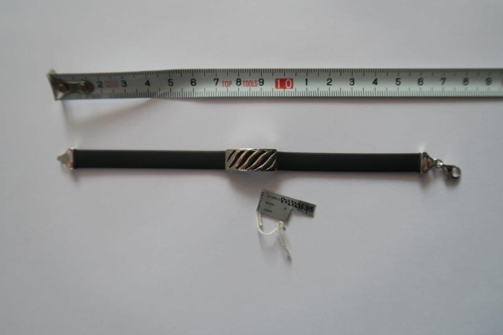 bransoletka na rękę z dodatkiem srebra