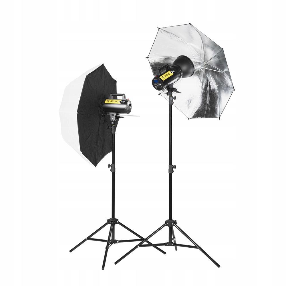 Quadralite Move X 200 Kit zestaw oświetleniowy