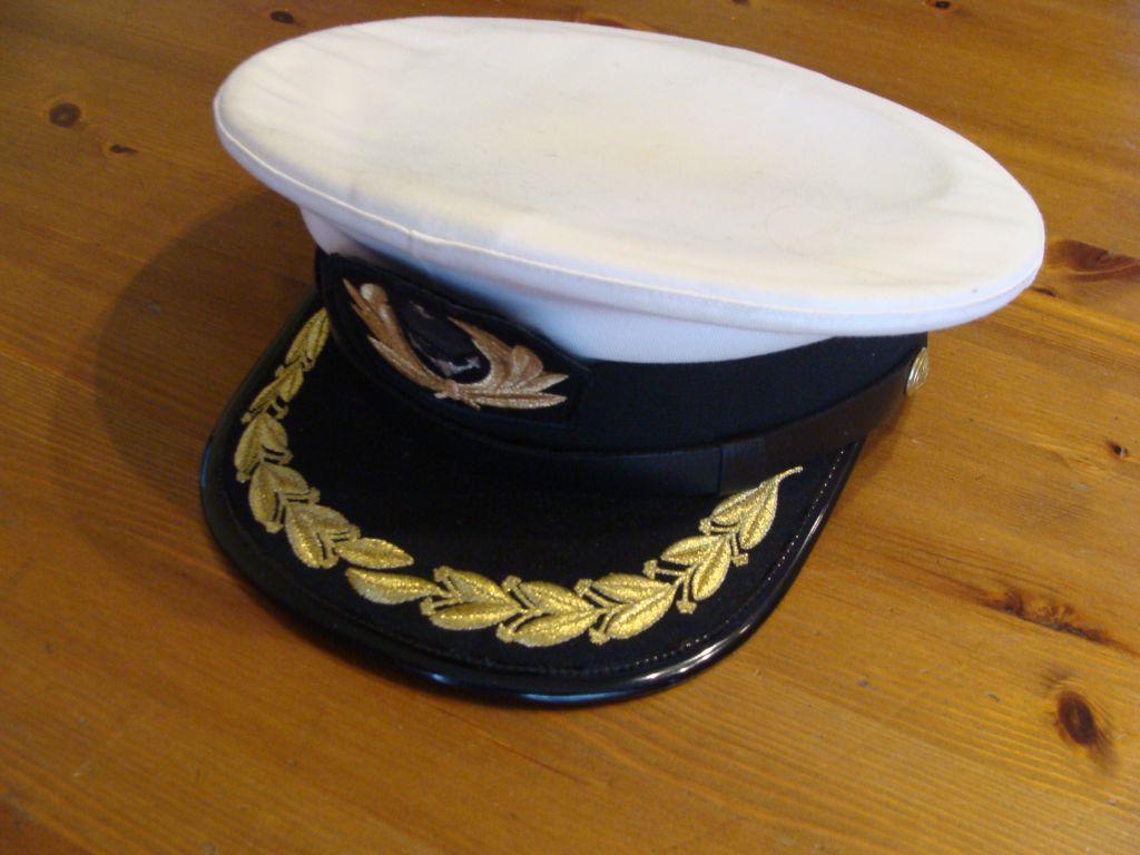 Czapka oficera Marynarki