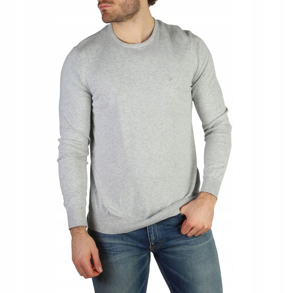 Sweter Męski Calvin Klein - J30J304649 - Szary M