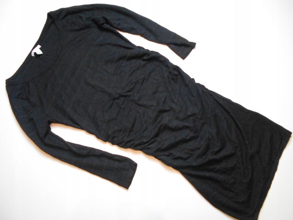 H&M MAMA sukienka ciążowa nitka 3% wełna M