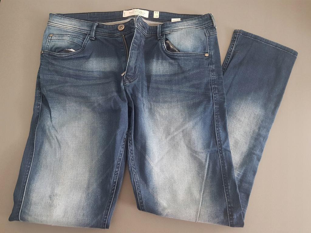 Spodnie Jeans Reserved slim W32 L32