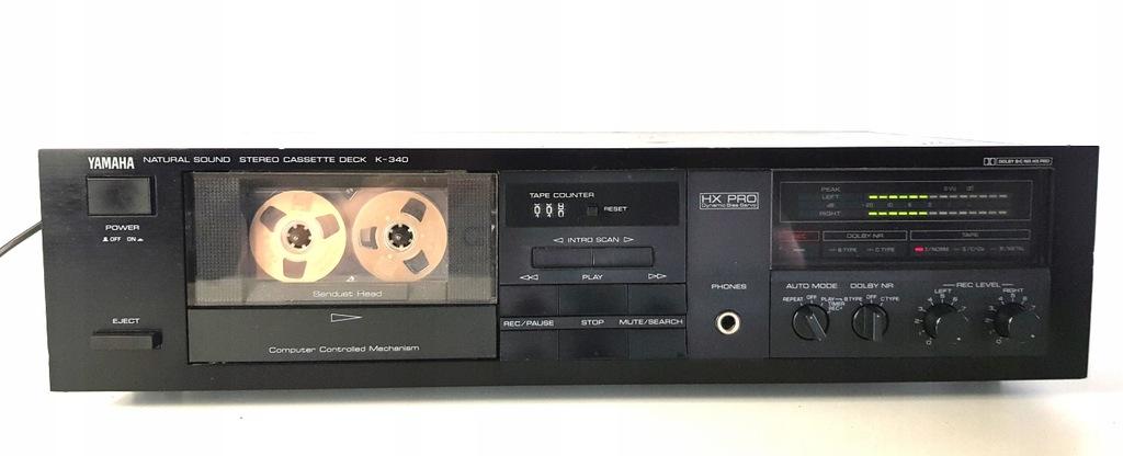 Yamaha K340 Stereo Cassette Deck magnetofon