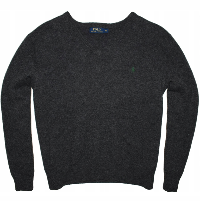 Ralph Lauren XL elegancki wełniany sweter NOWA kol