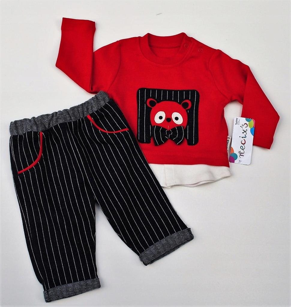 Komplet spodnie paski (Rozmiar: 62/68)