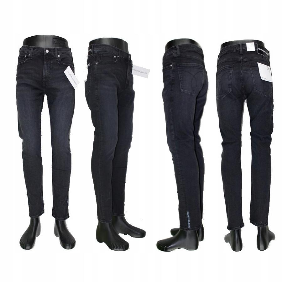 Oryginalne jeansy CALVIN KLEIN 016 rurki 7/8 - W32