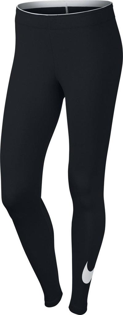 NIKE LEGGINSY DAMSKIE Nike Sportswear CZARNE r.L