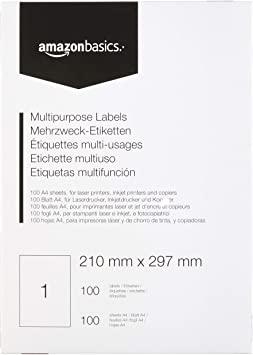 A315 Amazon Basics Uniwersalne etykiety adresowe