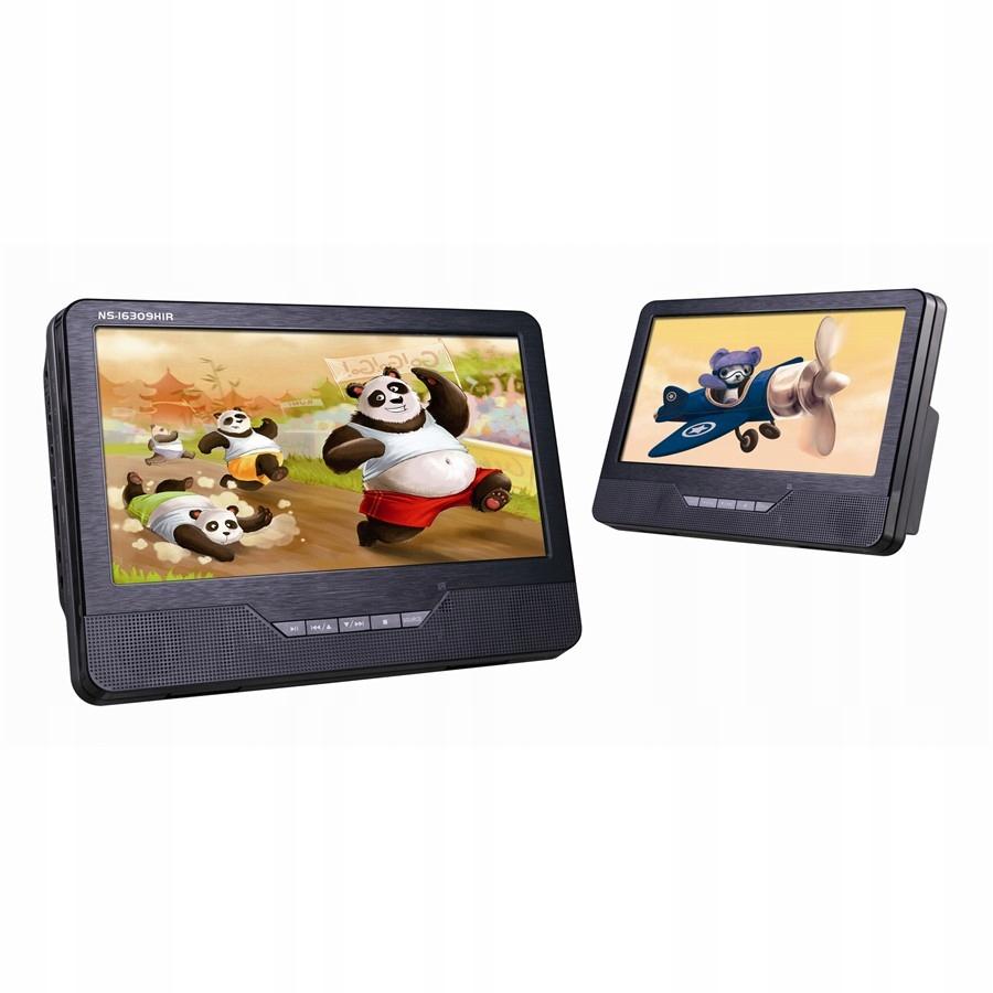 2 Odtwarzacze DVD Norauto Sound NS-16309HIR 9