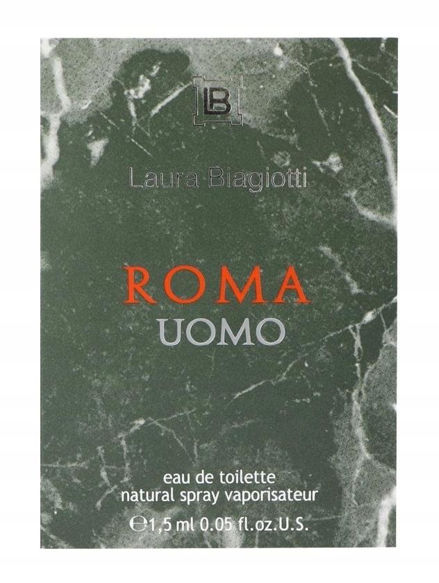ZESTAW PRÓBEK LAURA BIAGIOTTI ROMA UOMO 15x1,5 ml