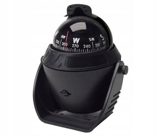 Kompas żeglarski 120x150x90mm z osłoną swiatło swe