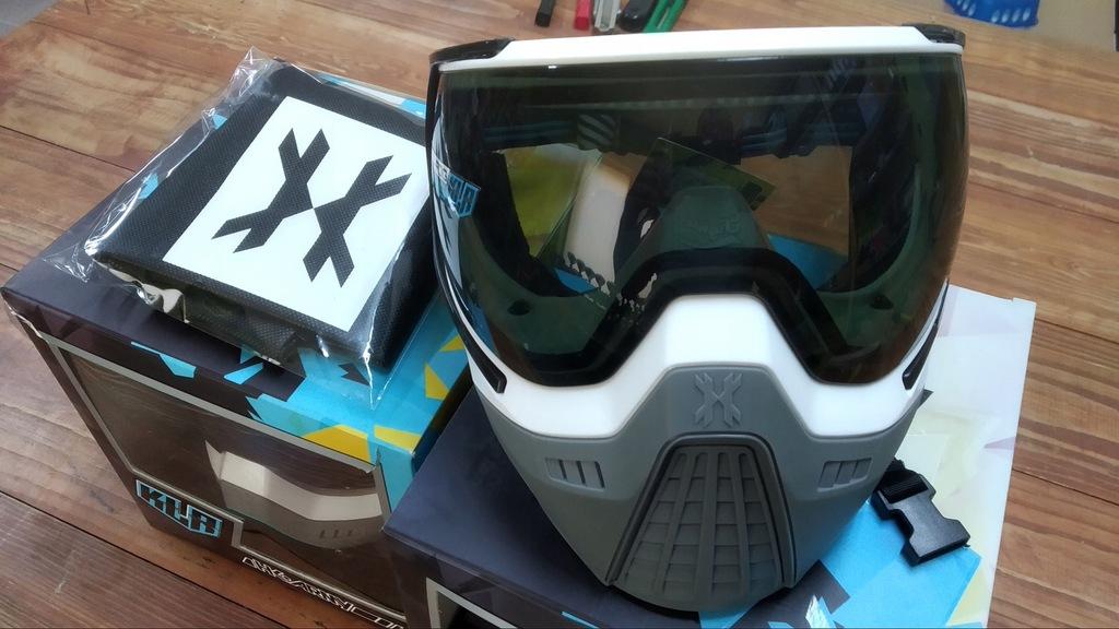 Maska Paintball HK Army KLR Goggle white/grey