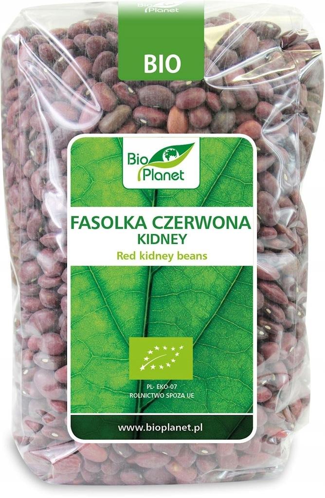 BIOPLANET Bio Planet FASOLKA CZERWONA KIDNEY 1 kg