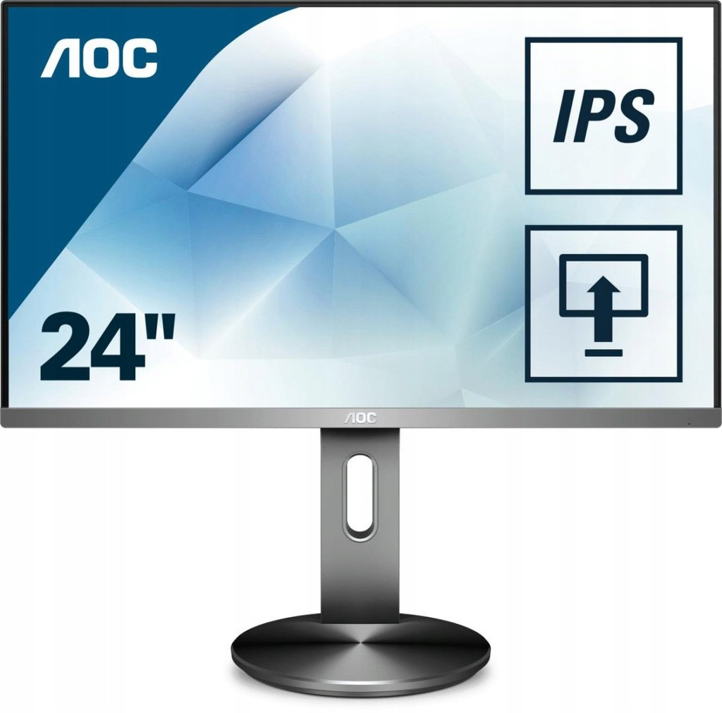 """Monitor AOC I2490PXQU/BT (23,8""""; IPS/PLS; Ful"""
