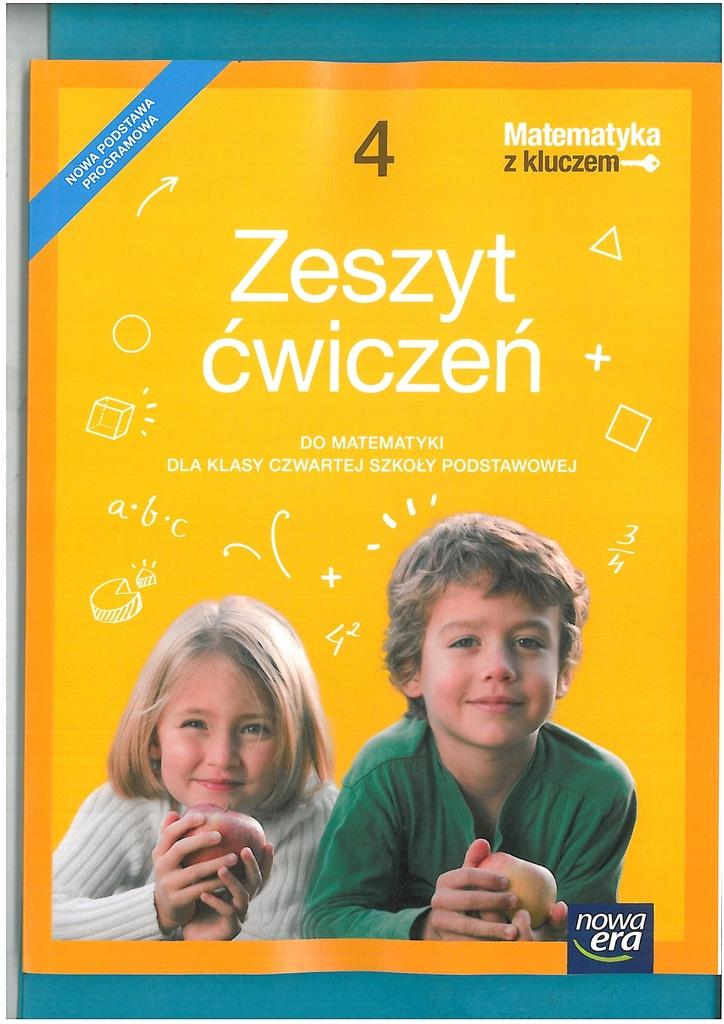 Matematyka Z Kluczem Zeszyt Cwiczen Kl 4 7579387600 Oficjalne Archiwum Allegro