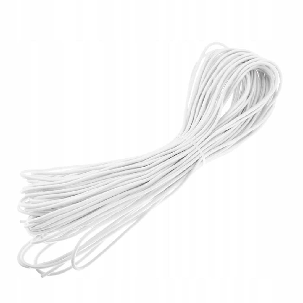 1-częściowy przewód amortyzujący - 30m biały