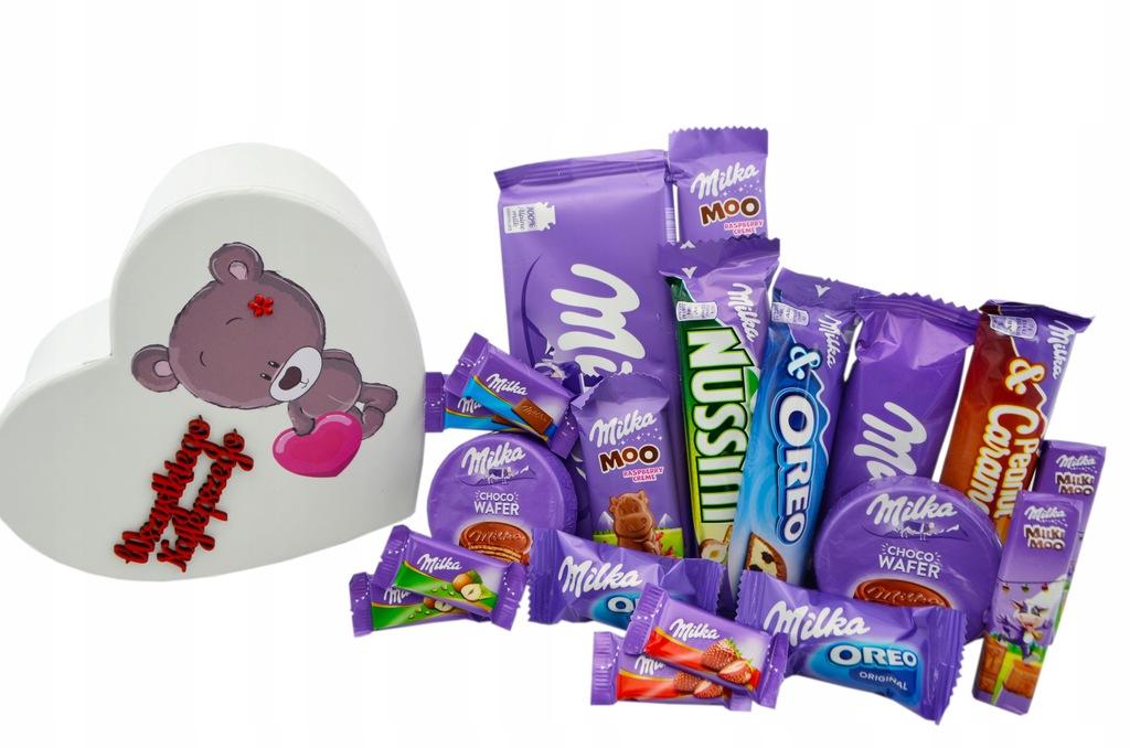 Zestaw Milka Prezent Na Urodziny Dziecka Serce Box
