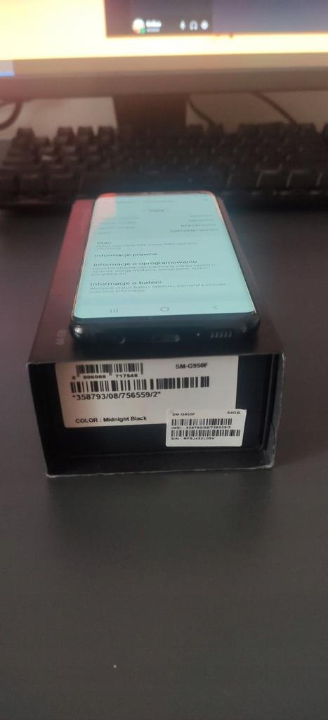 Smartfon Samsung Galaxy S8 4 GB / 64 GB czarny