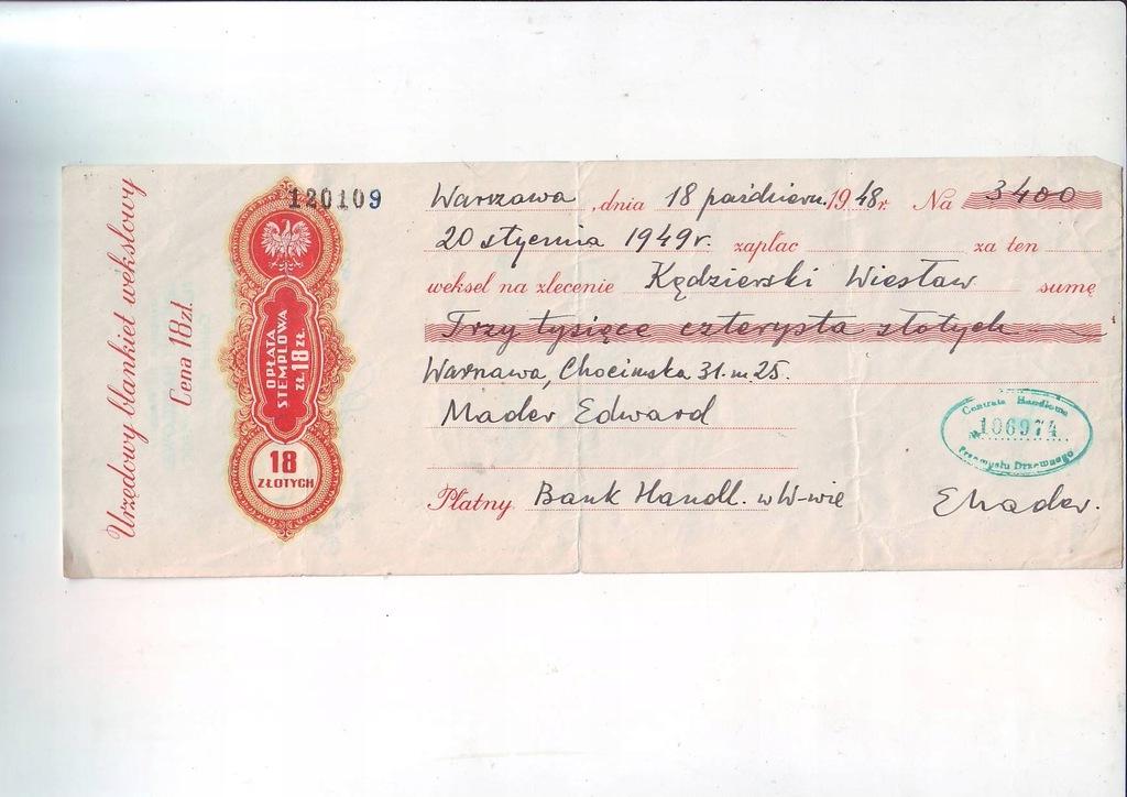 Wexel 3400 zl 1948