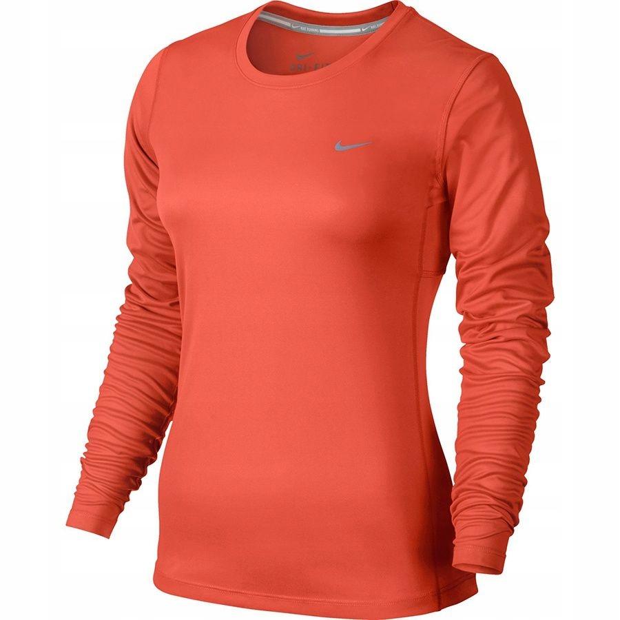 Koszulka Nike Miler Long Sleeve 686904 842 L pomar