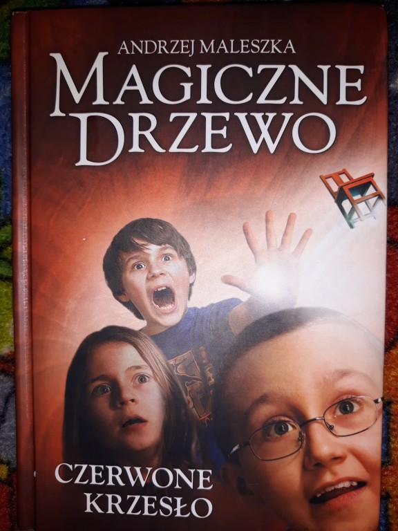 Czerwone Krzesło, Magiczne Drzewo, Andrzej Maleszk