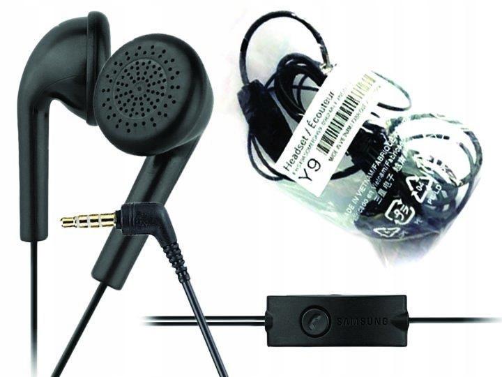 Zestaw słuchawkowy SAMSUNG EHS49AS0ME Black 3.5 mm